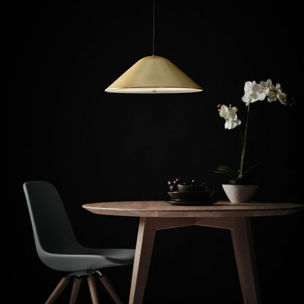 Damo Pendant Lamp in Matt Black