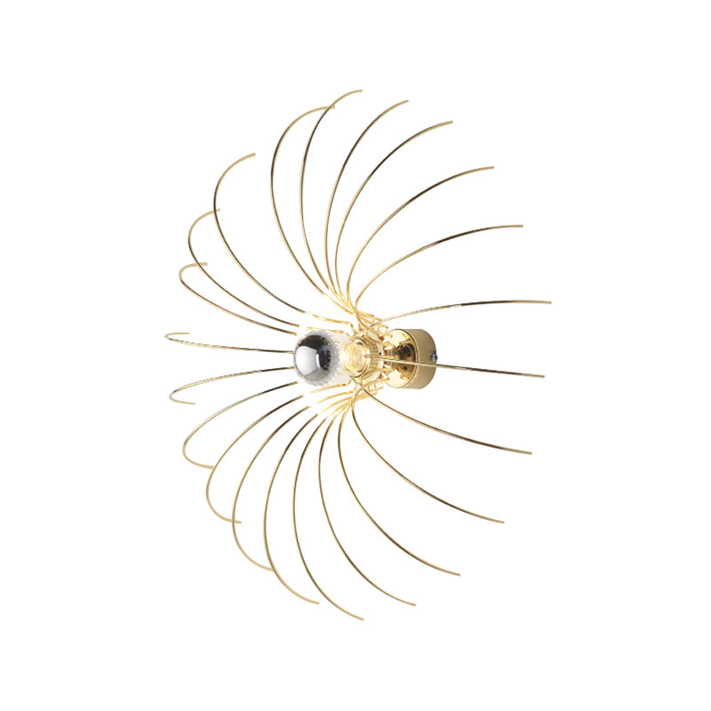 Aromas Spider Wall Lamp by Fornasevi Olson and Baker - Designer & Contemporary Sofas, Furniture - Olson and Baker showcases original designs from authentic, designer brands. Buy contemporary furniture, lighting, storage, sofas & chairs at Olson + Baker.