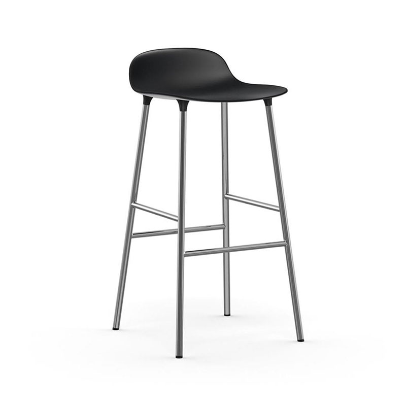 Normann Copenhagen Form High Bar Stool by Simon Legald Olson and Baker - Designer & Contemporary Sofas, Furniture - Olson and Baker showcases original designs from authentic, designer brands. Buy contemporary furniture, lighting, storage, sofas & chairs at Olson + Baker.