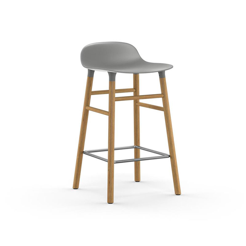 Normann Copenhagen Form Counter Stool by Simon Legald Olson and Baker - Designer & Contemporary Sofas, Furniture - Olson and Baker showcases original designs from authentic, designer brands. Buy contemporary furniture, lighting, storage, sofas & chairs at Olson + Baker.
