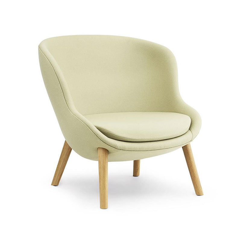 Normann Copenhagen Hyg Lounge Chair Low by Simon Legald Olson and Baker - Designer & Contemporary Sofas, Furniture - Olson and Baker showcases original designs from authentic, designer brands. Buy contemporary furniture, lighting, storage, sofas & chairs at Olson + Baker.