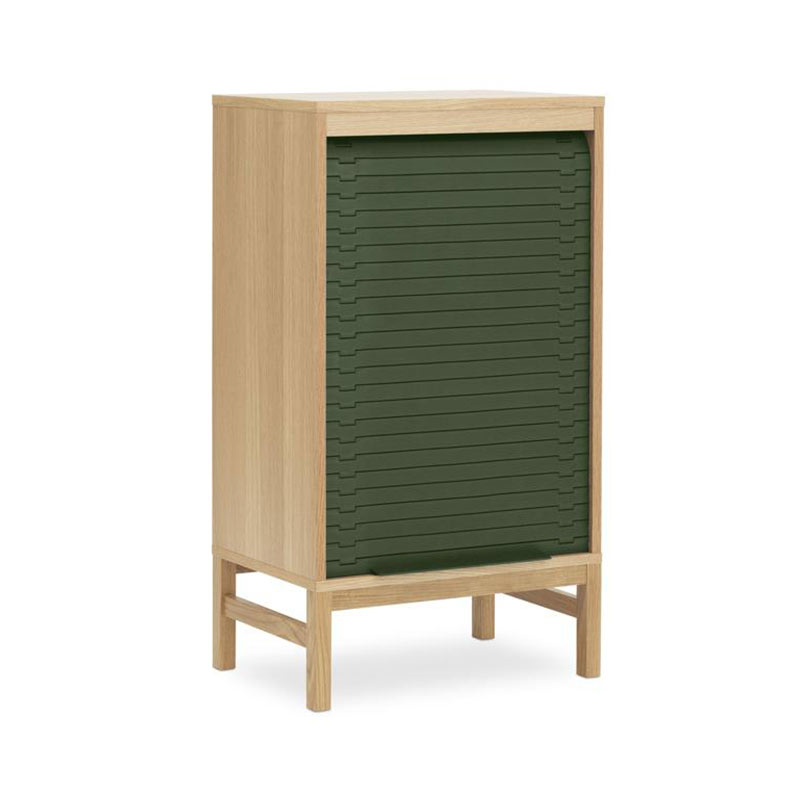 Normann Copenhagen Jalousi Cabinet Low by Simon Legald Olson and Baker - Designer & Contemporary Sofas, Furniture - Olson and Baker showcases original designs from authentic, designer brands. Buy contemporary furniture, lighting, storage, sofas & chairs at Olson + Baker.