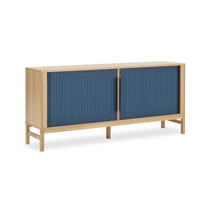 Normann Copenhagen Jalousi Sideboard by Simon Legald Olson and Baker - Designer & Contemporary Sofas, Furniture - Olson and Baker showcases original designs from authentic, designer brands. Buy contemporary furniture, lighting, storage, sofas & chairs at Olson + Baker.