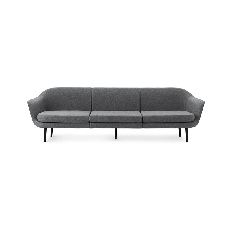 Normann Copenhagen Sum Three Seat Sofa by Simon Legald Olson and Baker - Designer & Contemporary Sofas, Furniture - Olson and Baker showcases original designs from authentic, designer brands. Buy contemporary furniture, lighting, storage, sofas & chairs at Olson + Baker.