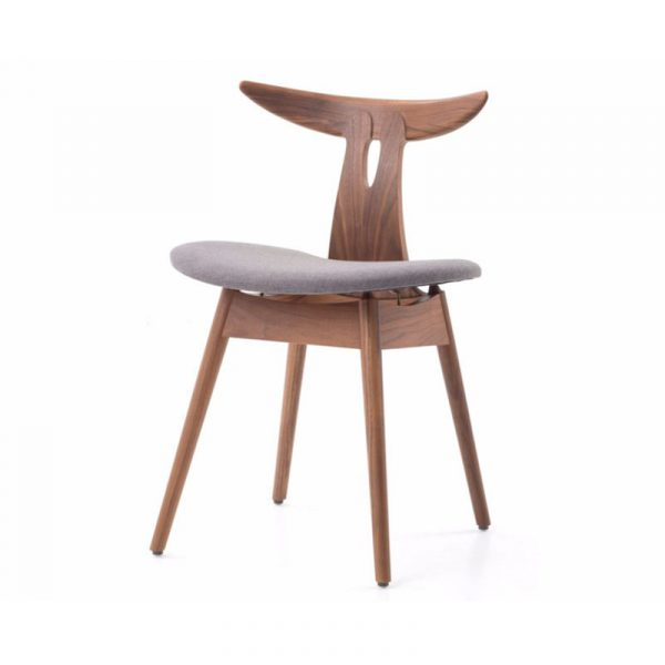 Antler Seat Upholstered Chair