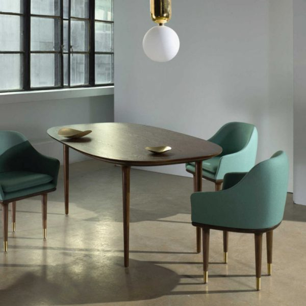 Lunar Rectangular Dining Table