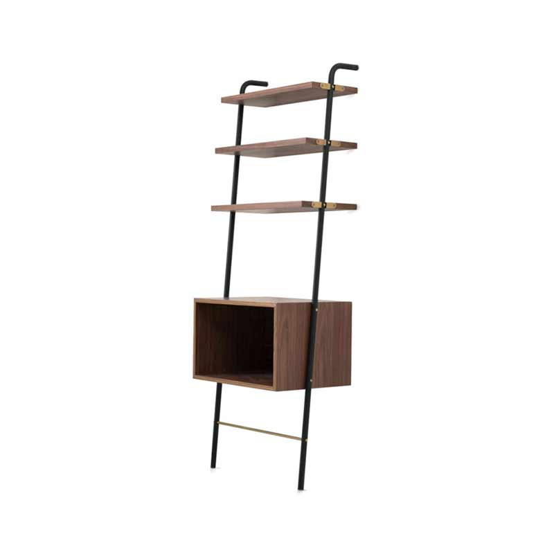 Stellar Works Valet Media Console Shelving by David Rockwell
