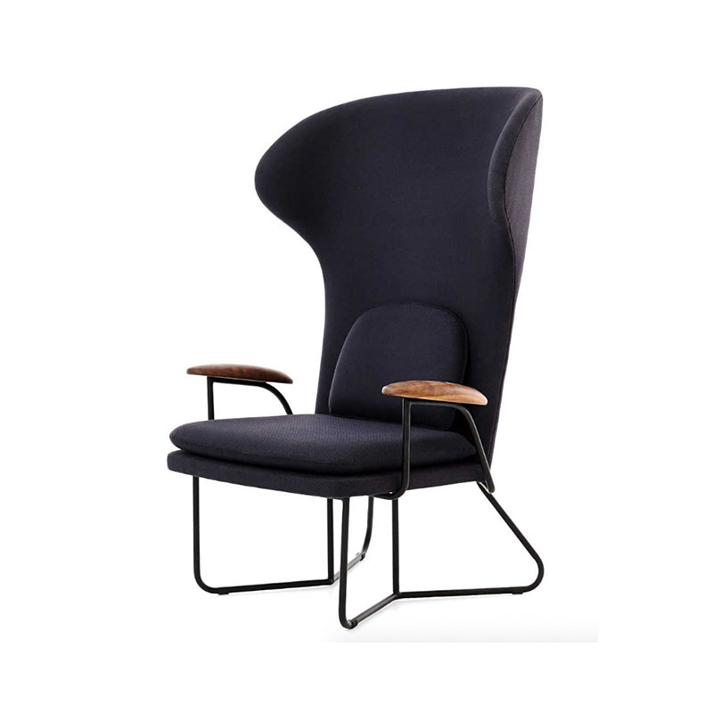 Stellar works Chillax Highback Chair by Nic Graham 2 Olson and Baker - Designer & Contemporary Sofas, Furniture - Olson and Baker showcases original designs from authentic, designer brands. Buy contemporary furniture, lighting, storage, sofas & chairs at Olson + Baker.
