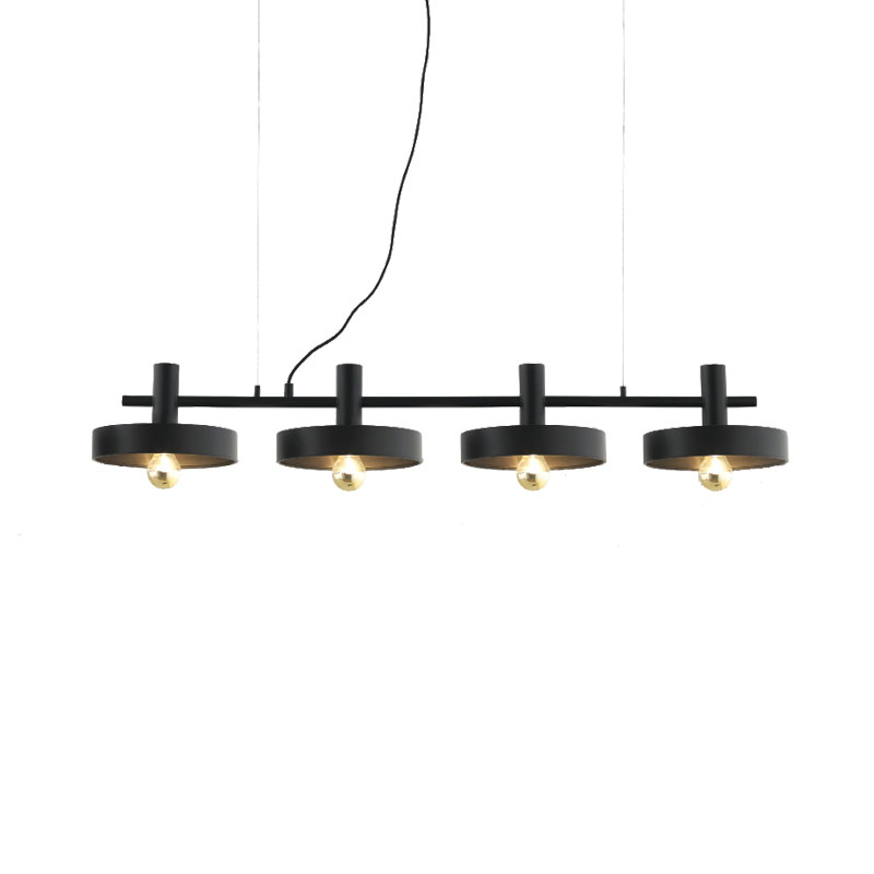 Aromas Aloa Chandelier in Matt Black by Fornasevi Olson and Baker - Designer & Contemporary Sofas, Furniture - Olson and Baker showcases original designs from authentic, designer brands. Buy contemporary furniture, lighting, storage, sofas & chairs at Olson + Baker.