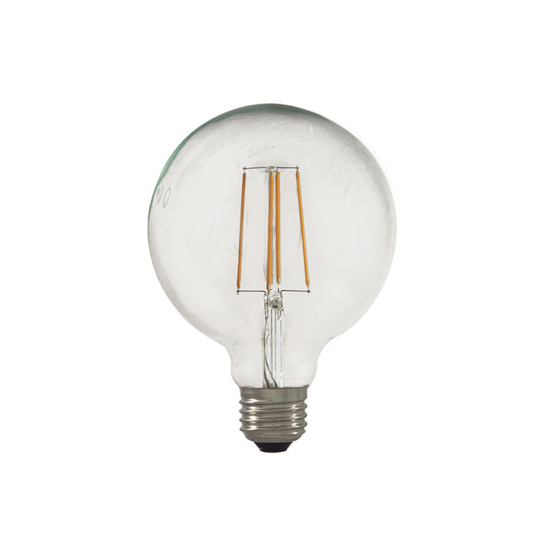 Aromas B020 E-27 Globe LED Filament Light Bulb by Aromas Olson and Baker - Designer & Contemporary Sofas, Furniture - Olson and Baker showcases original designs from authentic, designer brands. Buy contemporary furniture, lighting, storage, sofas & chairs at Olson + Baker.