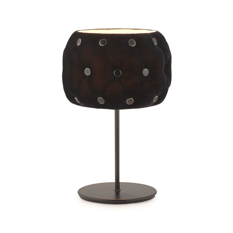 Aromas Chateau Velvet Table Lamp by AC Studio Olson and Baker - Designer & Contemporary Sofas, Furniture - Olson and Baker showcases original designs from authentic, designer brands. Buy contemporary furniture, lighting, storage, sofas & chairs at Olson + Baker.