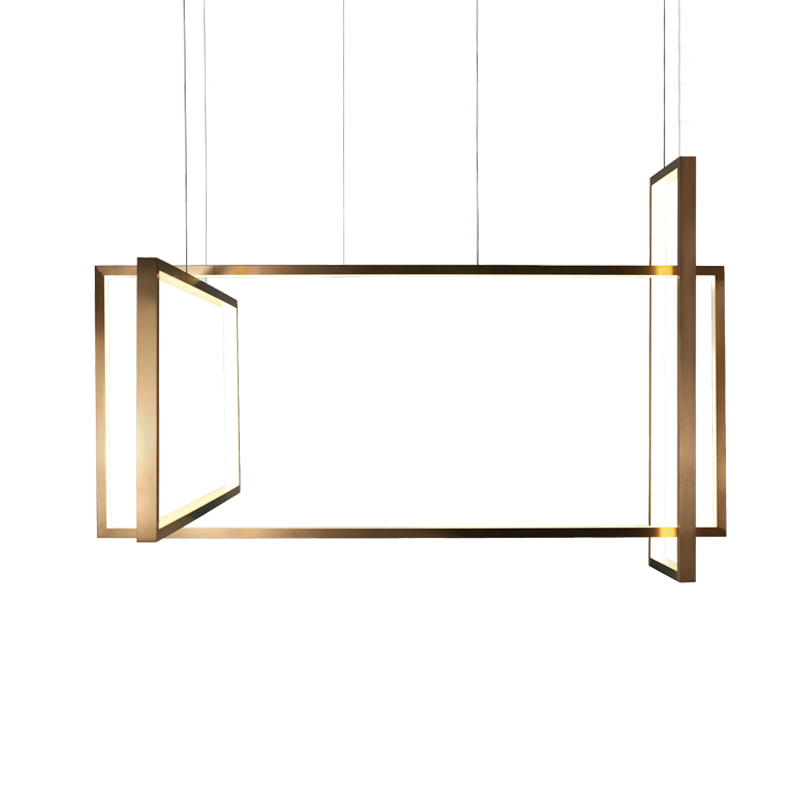Aromas Frame Chandelier by AC Studio Olson and Baker - Designer & Contemporary Sofas, Furniture - Olson and Baker showcases original designs from authentic, designer brands. Buy contemporary furniture, lighting, storage, sofas & chairs at Olson + Baker.