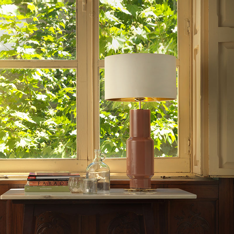 Aromas Noa Table Lamp by AC Studio 2 Olson and Baker - Designer & Contemporary Sofas, Furniture - Olson and Baker showcases original designs from authentic, designer brands. Buy contemporary furniture, lighting, storage, sofas & chairs at Olson + Baker.
