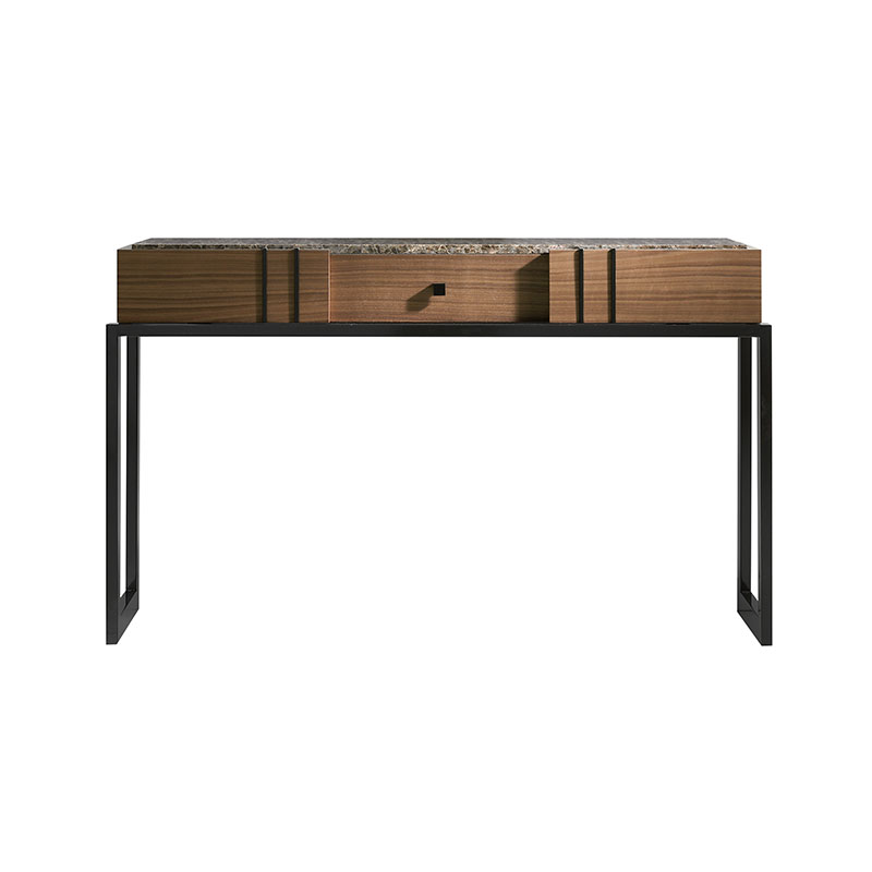 Olson and Baker Faraday Console Table by Olson and Baker Studio Olson and Baker - Designer & Contemporary Sofas, Furniture - Olson and Baker showcases original designs from authentic, designer brands. Buy contemporary furniture, lighting, storage, sofas & chairs at Olson + Baker.