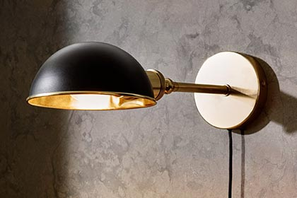 Olson and baker lighting sub menu wall light 2 Olson and Baker - Designer & Contemporary Sofas, Furniture - Olson and Baker showcases original designs from authentic, designer brands. Buy contemporary furniture, lighting, storage, sofas & chairs at Olson + Baker.