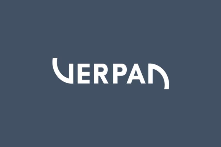 Verpan Brand logo blue