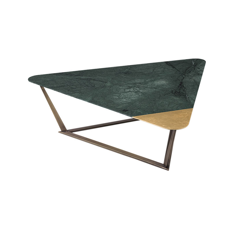 Alex Mint Golden Archer 96x85cm Coffee Table by Alexia Mintsouli Olson and Baker - Designer & Contemporary Sofas, Furniture - Olson and Baker showcases original designs from authentic, designer brands. Buy contemporary furniture, lighting, storage, sofas & chairs at Olson + Baker.