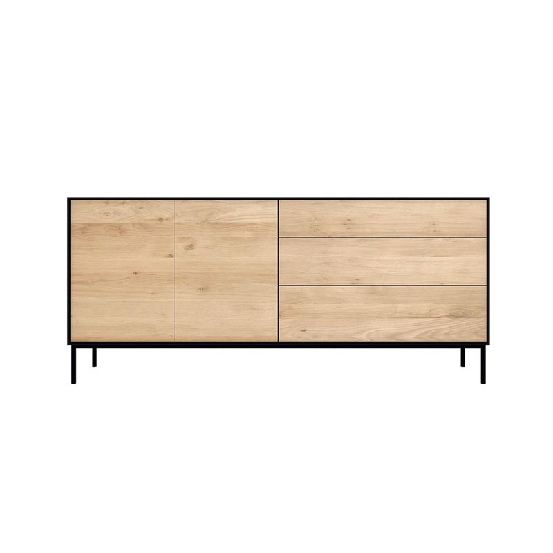 Ethnicraft Blackbird Sideboard by Constance Guisset