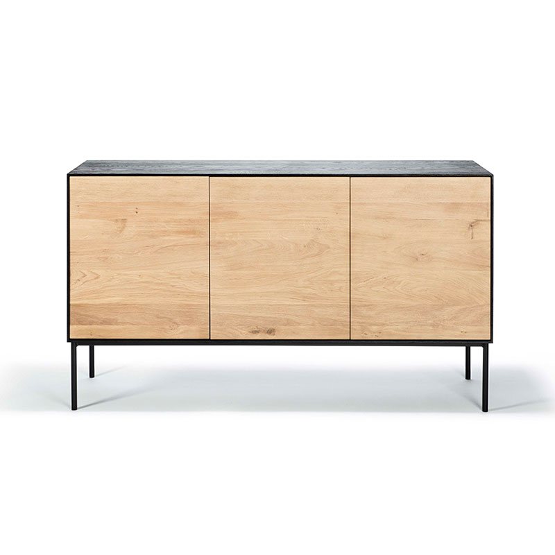 Ethnicraft Blackbird Sideboard by Constance Guisset Olson and Baker - Designer & Contemporary Sofas, Furniture - Olson and Baker showcases original designs from authentic, designer brands. Buy contemporary furniture, lighting, storage, sofas & chairs at Olson + Baker.