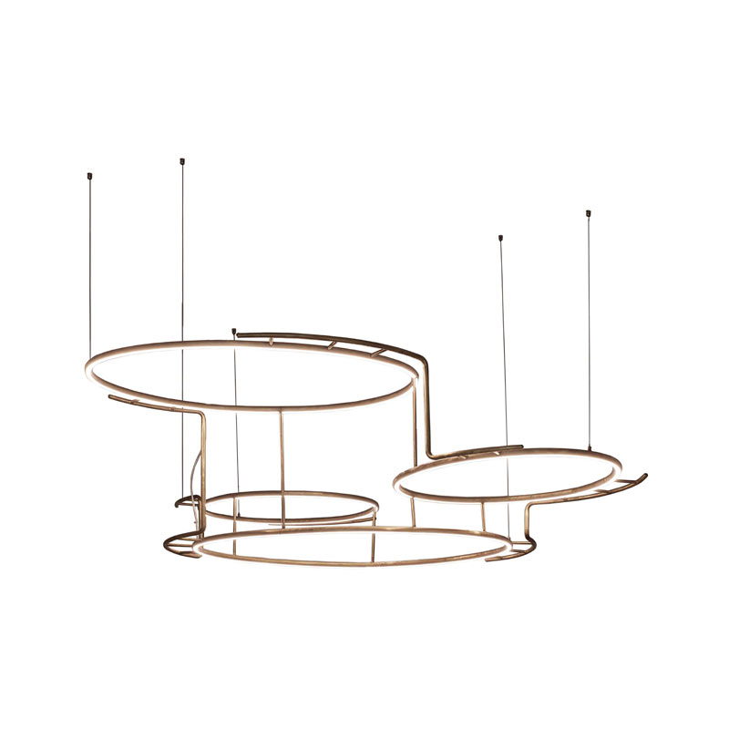 DCW Editions Broche Pendant Light by Éric de Dormaël Olson and Baker - Designer & Contemporary Sofas, Furniture - Olson and Baker showcases original designs from authentic, designer brands. Buy contemporary furniture, lighting, storage, sofas & chairs at Olson + Baker.