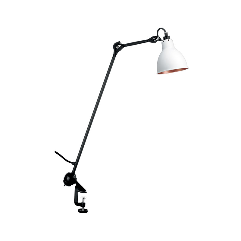 DCW Editions Lampe Gras N201 Wall Lamp with Round Shade by Bernard-Albin Gras