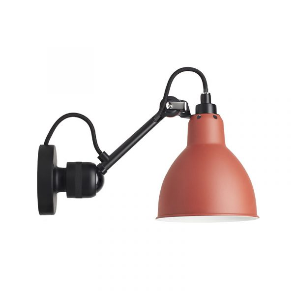 Lampe Gras N304 Wall Lamp with Round Shade