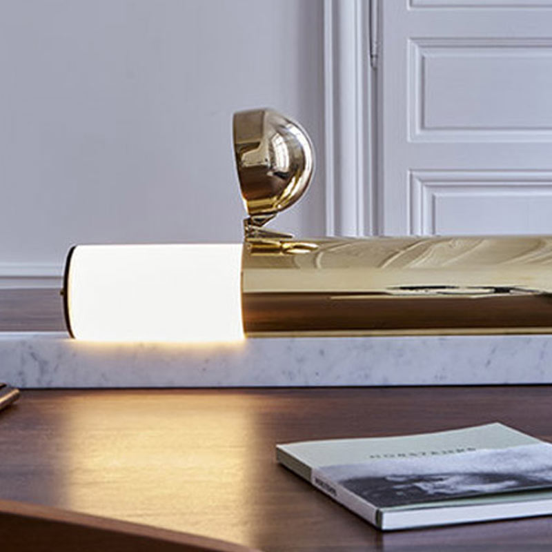 DCW Editions Lost in Space Table Lamp by Ilia Sergeevich Potemine Lifestyle Olson and Baker - Designer & Contemporary Sofas, Furniture - Olson and Baker showcases original designs from authentic, designer brands. Buy contemporary furniture, lighting, storage, sofas & chairs at Olson + Baker.