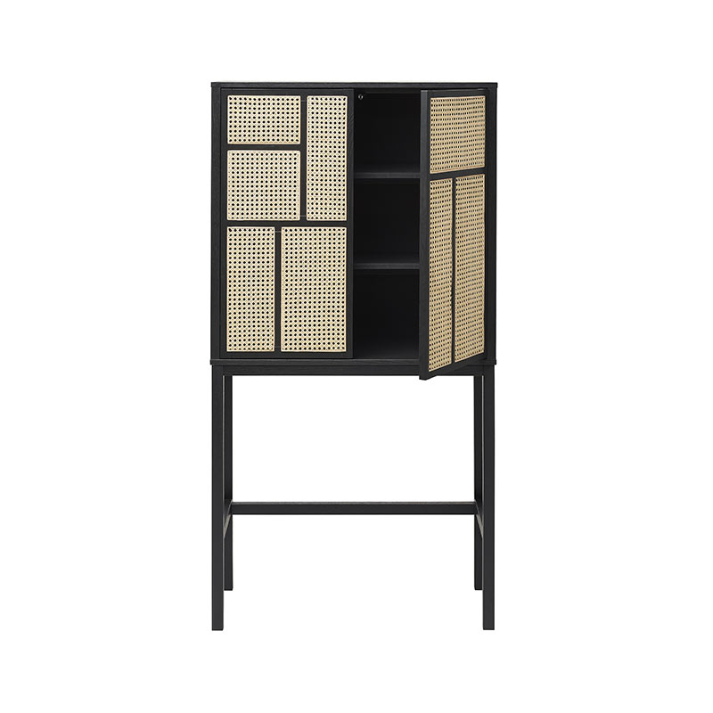 Design House Stockholm Air Cabinet by Mathieu Gustafsson Black 02 Olson and Baker - Designer & Contemporary Sofas, Furniture - Olson and Baker showcases original designs from authentic, designer brands. Buy contemporary furniture, lighting, storage, sofas & chairs at Olson + Baker.