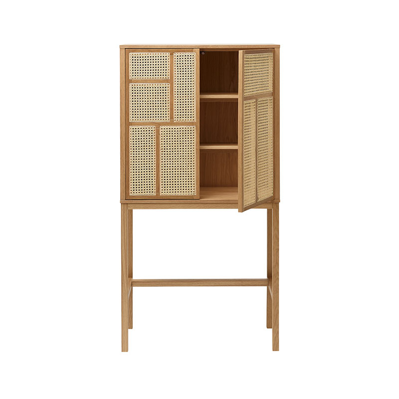Design House Stockholm Air Cabinet by Mathieu Gustafsson Oak 03 Olson and Baker - Designer & Contemporary Sofas, Furniture - Olson and Baker showcases original designs from authentic, designer brands. Buy contemporary furniture, lighting, storage, sofas & chairs at Olson + Baker.