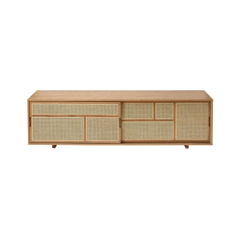 Design House Stockholm Air Low Sideboard by Mathieu Gustafsson Olson and Baker - Designer & Contemporary Sofas, Furniture - Olson and Baker showcases original designs from authentic, designer brands. Buy contemporary furniture, lighting, storage, sofas & chairs at Olson + Baker.