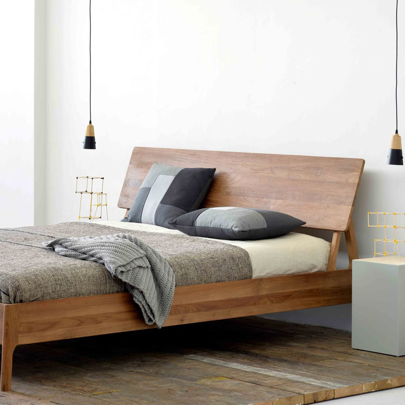 Ethnicraft Air Bed by Alain van Havre Lifeshot 01 Olson and Baker - Designer & Contemporary Sofas, Furniture - Olson and Baker showcases original designs from authentic, designer brands. Buy contemporary furniture, lighting, storage, sofas & chairs at Olson + Baker.