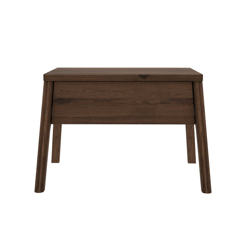 Ethnicraft Air Bedside Table by Alain van Havre Olson and Baker - Designer & Contemporary Sofas, Furniture - Olson and Baker showcases original designs from authentic, designer brands. Buy contemporary furniture, lighting, storage, sofas & chairs at Olson + Baker.