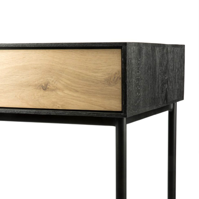Ethnicraft Blackbird Desk by Alain van Havre 03 Olson and Baker - Designer & Contemporary Sofas, Furniture - Olson and Baker showcases original designs from authentic, designer brands. Buy contemporary furniture, lighting, storage, sofas & chairs at Olson + Baker.