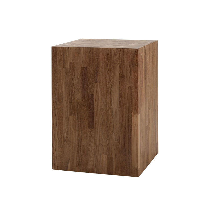 Ethnicraft Butcher Side Table by Nathan Yong Olson and Baker - Designer & Contemporary Sofas, Furniture - Olson and Baker showcases original designs from authentic, designer brands. Buy contemporary furniture, lighting, storage, sofas & chairs at Olson + Baker.