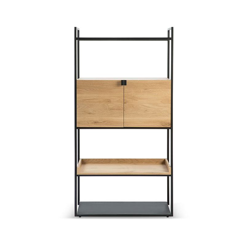 Ethnicraft Cell Unit Cupboard by Jan & Lara Olson and Baker - Designer & Contemporary Sofas, Furniture - Olson and Baker showcases original designs from authentic, designer brands. Buy contemporary furniture, lighting, storage, sofas & chairs at Olson + Baker.