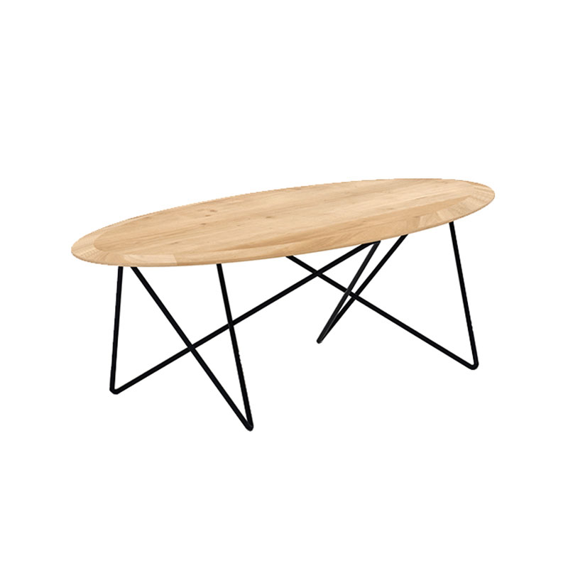 Ethnicraft Orb Coffee Table by Jan & Lara 02 Olson and Baker - Designer & Contemporary Sofas, Furniture - Olson and Baker showcases original designs from authentic, designer brands. Buy contemporary furniture, lighting, storage, sofas & chairs at Olson + Baker.