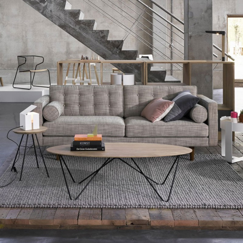 Ethnicraft Orb Coffee Table by Jan & Lara 03 Olson and Baker - Designer & Contemporary Sofas, Furniture - Olson and Baker showcases original designs from authentic, designer brands. Buy contemporary furniture, lighting, storage, sofas & chairs at Olson + Baker.