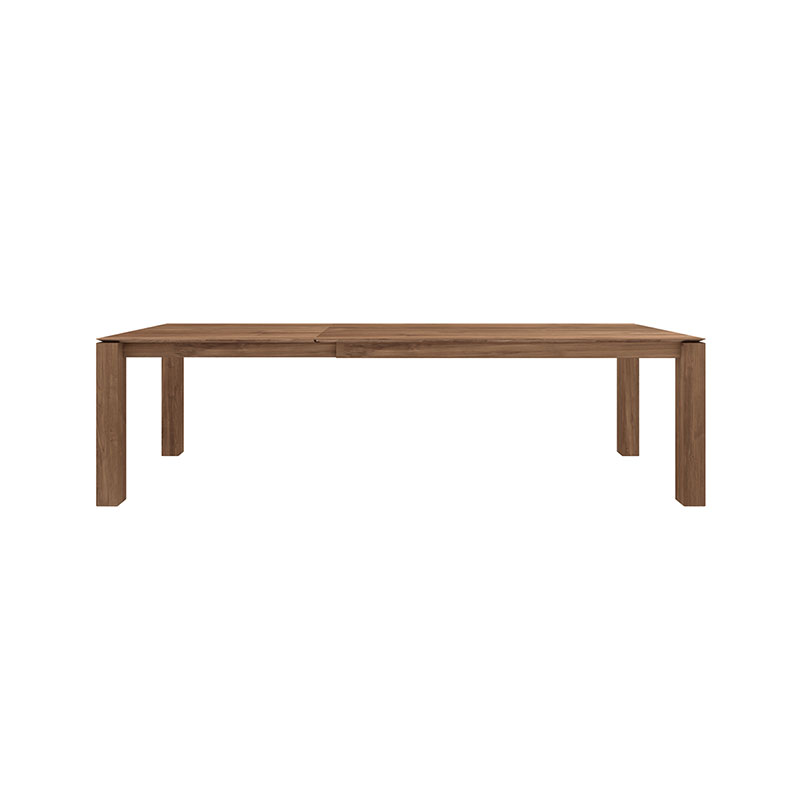 Ethnicraft Slice Dining Table by Nathan Yong Olson and Baker - Designer & Contemporary Sofas, Furniture - Olson and Baker showcases original designs from authentic, designer brands. Buy contemporary furniture, lighting, storage, sofas & chairs at Olson + Baker.