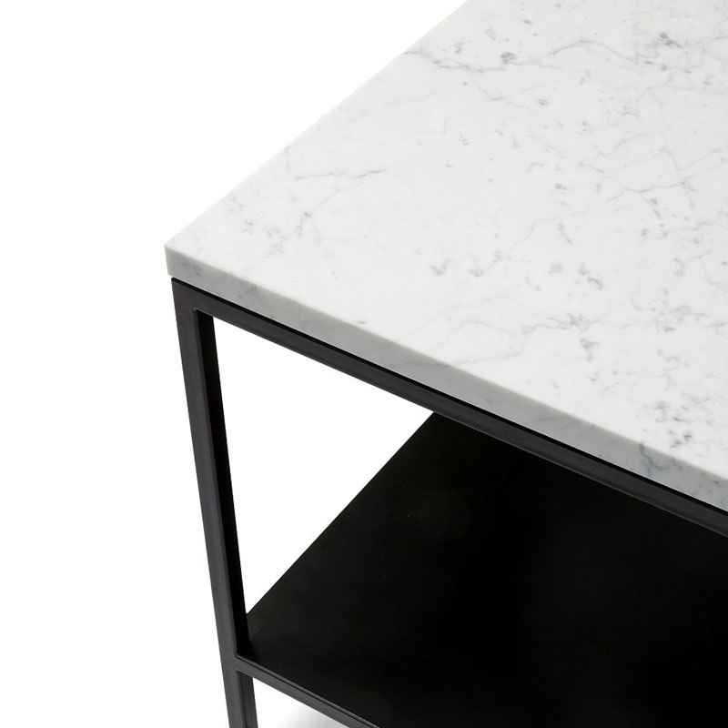 Ethnicraft Stone Coffee Table by Alain van Havre 02 Olson and Baker - Designer & Contemporary Sofas, Furniture - Olson and Baker showcases original designs from authentic, designer brands. Buy contemporary furniture, lighting, storage, sofas & chairs at Olson + Baker.