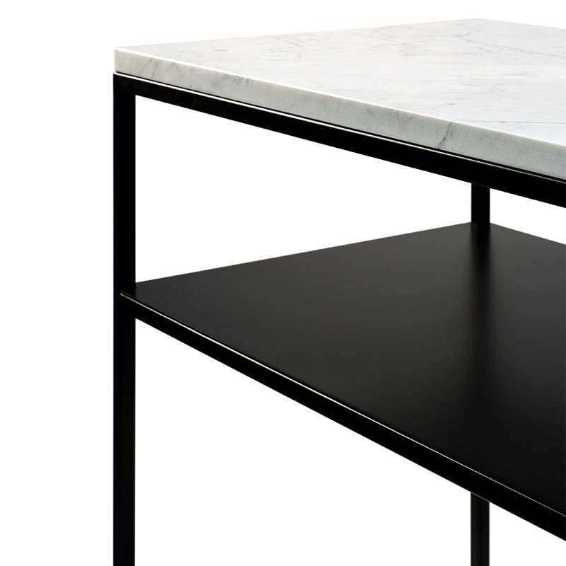 Ethnicraft Stone Console by Alain van Havre 02 Olson and Baker - Designer & Contemporary Sofas, Furniture - Olson and Baker showcases original designs from authentic, designer brands. Buy contemporary furniture, lighting, storage, sofas & chairs at Olson + Baker.