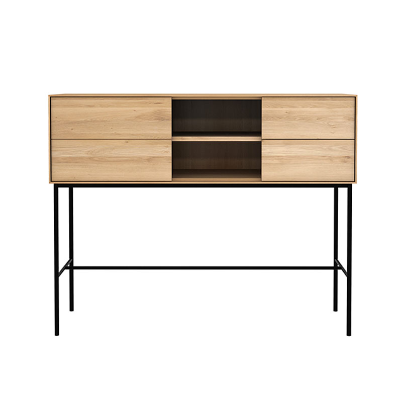 Ethnicraft Whitebird Console by Alain van Havre Olson and Baker - Designer & Contemporary Sofas, Furniture - Olson and Baker showcases original designs from authentic, designer brands. Buy contemporary furniture, lighting, storage, sofas & chairs at Olson + Baker.