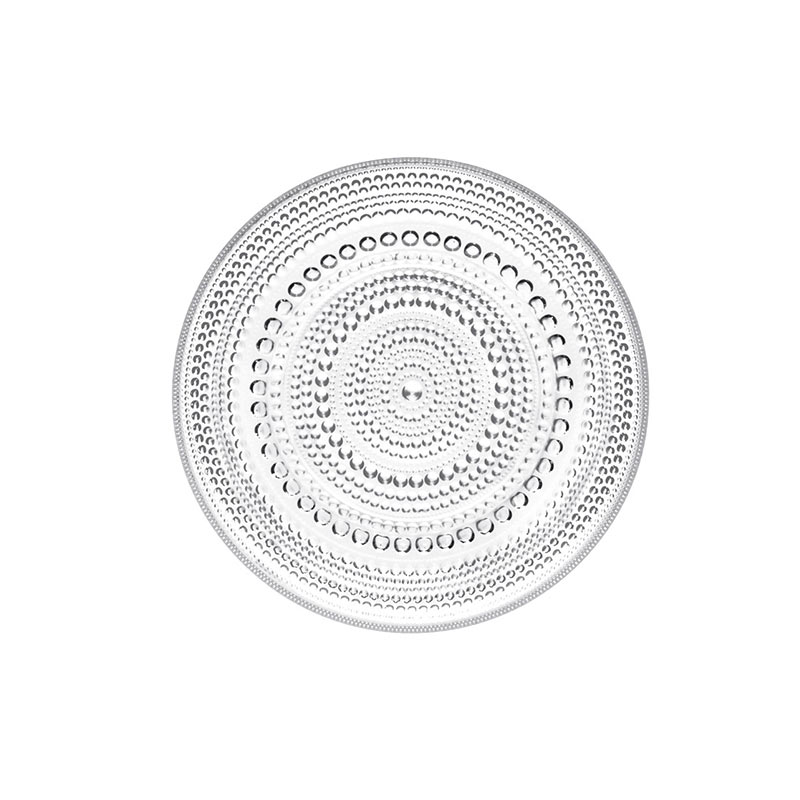 Iittala Kastehelmi 170mm Plate - Set of Six by Oiva Toikka Olson and Baker - Designer & Contemporary Sofas, Furniture - Olson and Baker showcases original designs from authentic, designer brands. Buy contemporary furniture, lighting, storage, sofas & chairs at Olson + Baker.