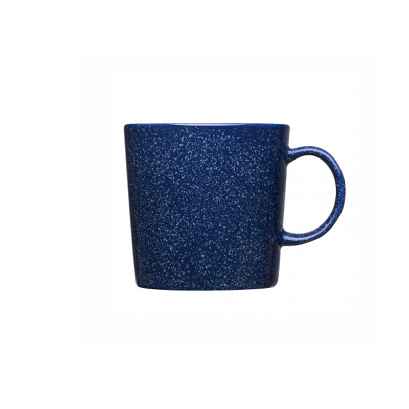 Iittala Teema 0.3L Mug - Set of Six - Dotted Blue by Kaj Franck Olson and Baker - Designer & Contemporary Sofas, Furniture - Olson and Baker showcases original designs from authentic, designer brands. Buy contemporary furniture, lighting, storage, sofas & chairs at Olson + Baker.