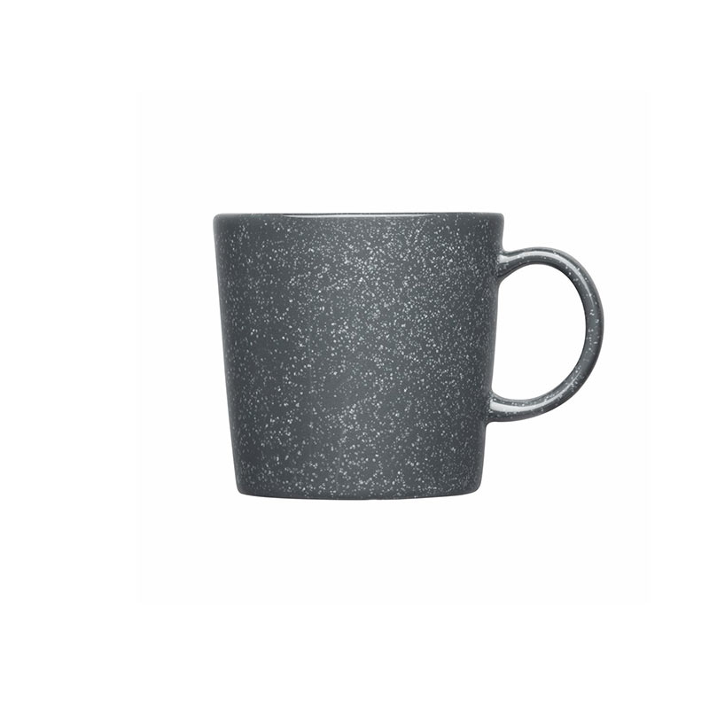 Iittala Teema 0.3L Mug - Set of Six - Dotted Grey by Kaj Franck Olson and Baker - Designer & Contemporary Sofas, Furniture - Olson and Baker showcases original designs from authentic, designer brands. Buy contemporary furniture, lighting, storage, sofas & chairs at Olson + Baker.