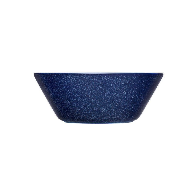 Iittala Teema 15cm Bowl - Set of Six - Dotted Blue by Kaj Franck
