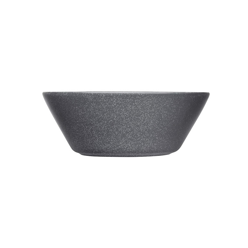 Iittala Teema 15cm Bowl - Set of Six - Dotted Grey by Kaj Franck Olson and Baker - Designer & Contemporary Sofas, Furniture - Olson and Baker showcases original designs from authentic, designer brands. Buy contemporary furniture, lighting, storage, sofas & chairs at Olson + Baker.