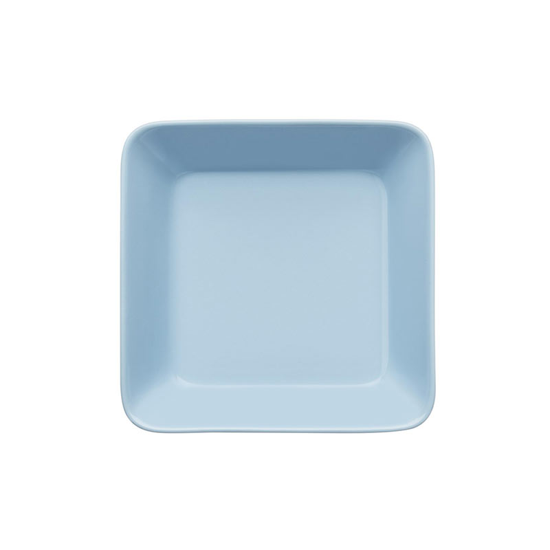 Iittala Teema 16 x 16cm Square Plate - Set of Two by Kaj Franck Olson and Baker - Designer & Contemporary Sofas, Furniture - Olson and Baker showcases original designs from authentic, designer brands. Buy contemporary furniture, lighting, storage, sofas & chairs at Olson + Baker.