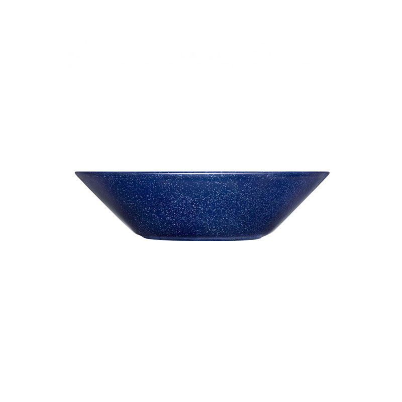 Iittala Teema 21cm Deep Plate - Set of Six - Dotted Blue by Kaj Franck