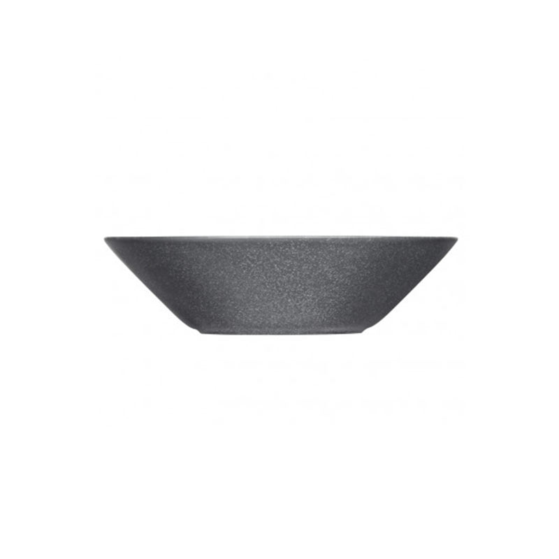 Iittala Teema 21cm Deep Plate - Set of Six - Dotted Grey by Kaj Franck Olson and Baker - Designer & Contemporary Sofas, Furniture - Olson and Baker showcases original designs from authentic, designer brands. Buy contemporary furniture, lighting, storage, sofas & chairs at Olson + Baker.