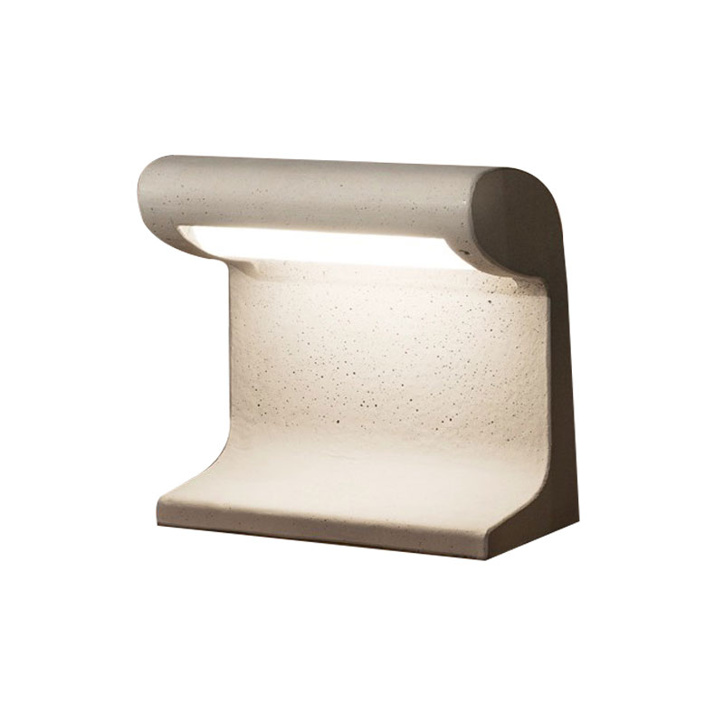 Nemo Lighting Outdoor Borne Beton Petite Table Lamp by Le Corbusier Olson and Baker - Designer & Contemporary Sofas, Furniture - Olson and Baker showcases original designs from authentic, designer brands. Buy contemporary furniture, lighting, storage, sofas & chairs at Olson + Baker.